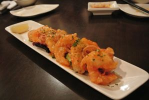 Fried Shrimp with Spicy Chili Sauce by Shinseigo-Takashi