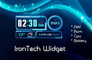 IronTech Widget for xwidget by jimking