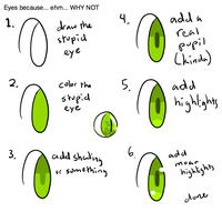 Eye Tutorial by Samuraidogs