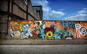 Graffiti is here to stay by Pierre-Lagarde