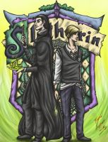 Slytherin Wizards by sarumanka