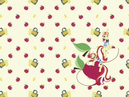 Chibi Flim Flam Wallpaper by Catnipfairy
