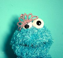 Princess Cookie Monster by ZoeWieZo