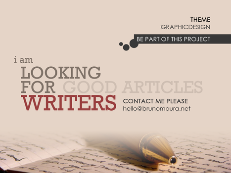 Looking for Writers by sne4D