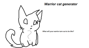 Warrior Cat Generator by ShiverTheHedgehog