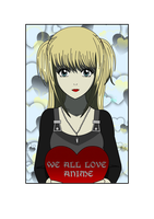 Misa Amane - Valentine's Day by SilviaInverse
