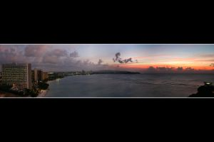 Guam - Tumon Bay Sunset by Keith-Killer