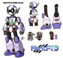 Mark.PTO ver.PLAMO concept by FontesMakua