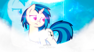 Vinyl Scratch  Wallpaper by OfficialApocalyptic