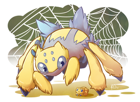 Favorite Bug Type: Galvantula by KatieOsika