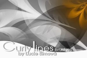 CurlyLines Brushes by markyfan
