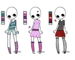 Outfit Adopts- Set 3 -Closed by Kaazul-Adopts