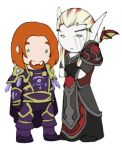 Mini Rhonin and Krasus by Ghostey