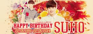 Resquest: HPBD SUHO cover [by yupiholic] by yupiholic