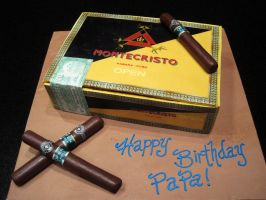 Montecristo Cigar box by Sliceofcake