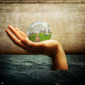 The World is in Your HAND by DanieLSsTyLe