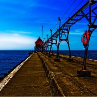 Strong HDR Pier by VividThorn