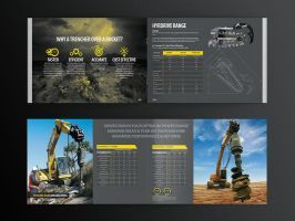 Digga corporate brochure design by Lemongraphic
