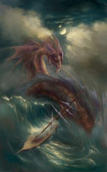 Sea Serpents of the Sea by ValentiniaK