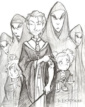 Draco's Posse - HBP by lberghol