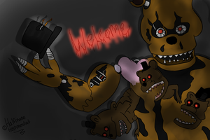 Welcome...[FNAF] by HalfInane-HalfMental