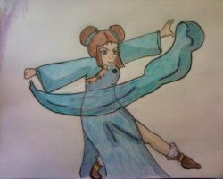 Older Katara by SailorSun18
