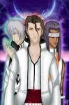 Aizen,Gin and Tousen by NeoDeviant156