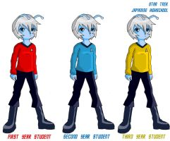 Star trek - Andorian by Glee-chan