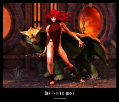 The Protectress by Fredy3D