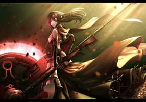 RWBY : Future Ruby Rose v.2 by dishwasher1910