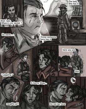 where is my jacket? Shay x Reader(comic) by IzzyKenway23