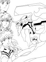 Evangelion - The Pilots by StingRoll