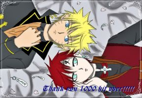 Special Picture For 1000 Hit by SeidooReiki