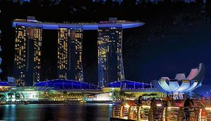 Singapore Evening by montag451