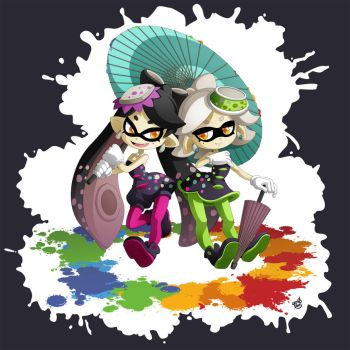 Splatoon : Callie Marie by gen8