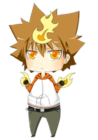 Tsuna by xwood-peckerx