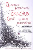 How the Grinch Stole Christmas. In Latin! by Ovid2345