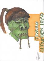 Shrunken Head 4 by Sykik