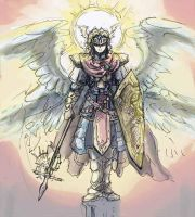 2012_11_24 ArchAngel sketch by RogueAngelAlan