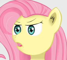 Blooper Fluttershy ACCIDENTU was born by ImShySoIhide