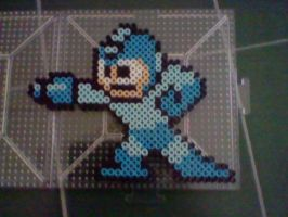 Commission: Shooting Megaman by SuzuriHeinze