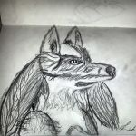 Realistic Lucario (Speed drawing) by PhilosophyBound
