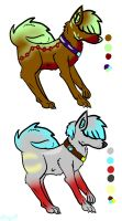 My first adoptables-OPEN by Mikufresa