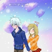 Jack Frost And Nora by CowsEat-Pineapples