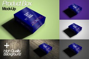 Product Package Mock-Up Vol. 1 by calwincalwin