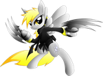 Derpy Hooves ninja by XEROSEIS