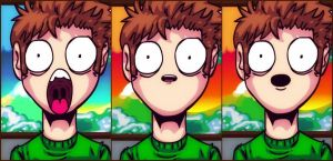 Tobuscus Animated Christmas Expressions by diamond-tearz