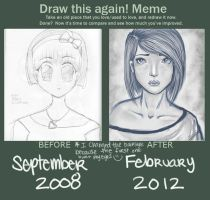 Before and After 2008-2012 by balletbunhead20