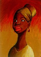 Nina Simone's Amazing Lips... by Mensaman