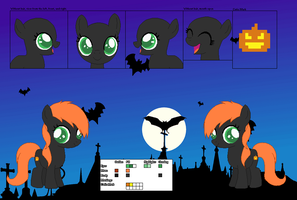 Punkin Eve Hallows -Official Character Ref- by Cherryblossom135